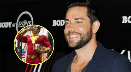 Zachary Levi's 'Shazam!' costume revealed in first look photos