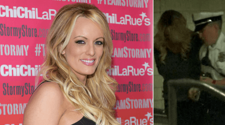 Stormy Daniels arrested after 'grabbing' undercover officer's backside at strip club, calls arrest 'politically motivated'