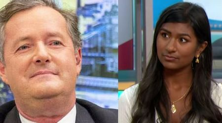 Piers Morgan called an 'idiot' on 'Good Morning Britain' by Stop Trump Coalition activist