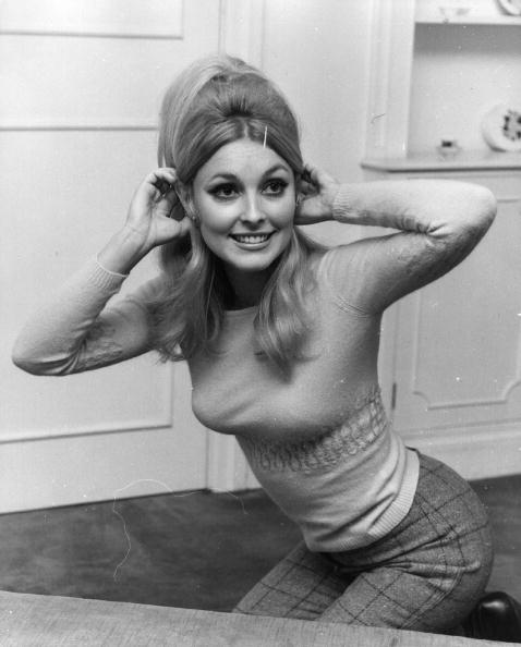 American actress Sharon Tate (1943 - 1969), second wife of film director Roman Polanski, in London (Getty Images)