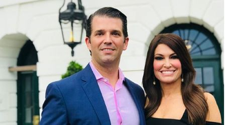 Donald Trump Jr. and girlfriend Kimberly Guilfoyle get hot and heavy while on vacation in southern France