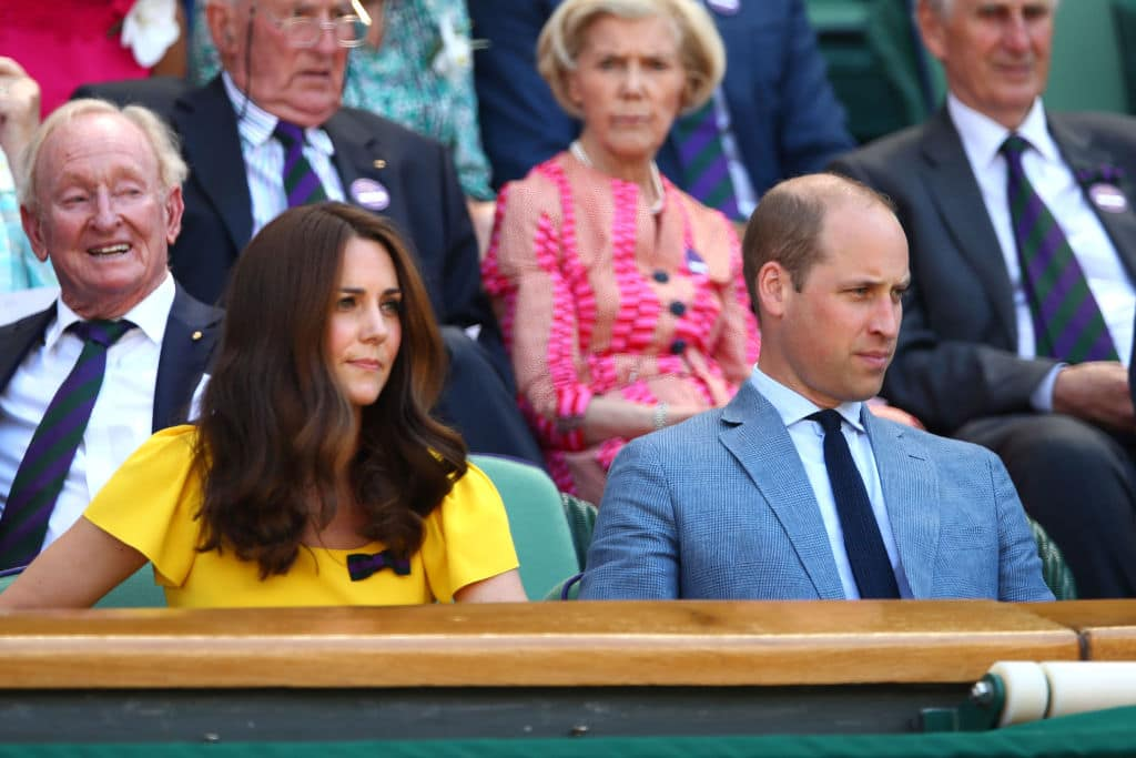 Kate and William have attended Wimbledon together for many years, and are known to be very enthusiastic during the matches (Getty Images)