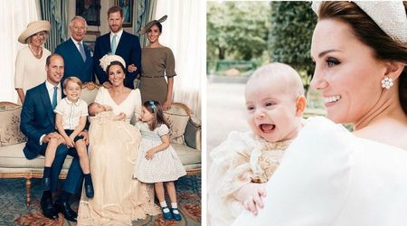 Prince Louis' official royal christening photos are here: See Prince William and Kate Middleton's family of five