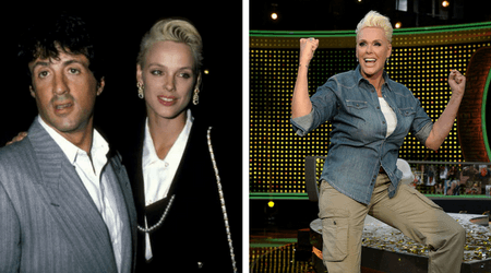 "Brigitte Nielson turns 55 and says ""it's the best time"" of her life"