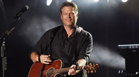 """Yes I had been drinking. A lot..."": Notorious hellraiser Blake Shelton takes a tumble on-stage; blames the booze, and, er, Pitbull"