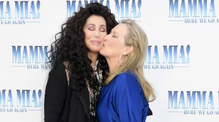 "Cher ""thrilled to death"" about playing Meryl Streep's mother in 'Mamma Mia! Here We Go Again'"