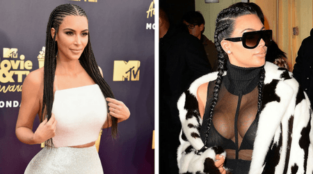 Cultural appropriation? Kim Kardashian comes out fighting after being slammed for wearing cornrow braids