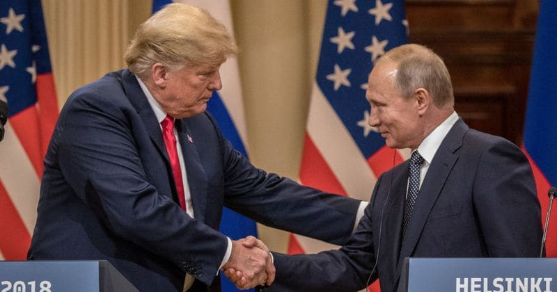 Treason' and 'Traitor' - Top searched words after Trump-Putin