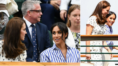 Most fashion influential Duchess! Meghan Markle beats Kate Middleton in style polls as her Wimbledon outfit sells out