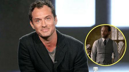 Jude Law reveals Dumbledore and Grindelwald don't share any scenes together in Fantastic Beasts 2