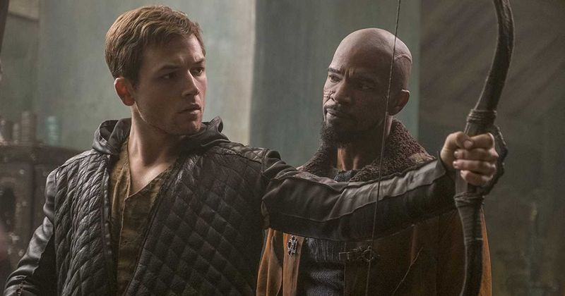 'Robin Hood' trailer: Jamie Foxx and Taron Egerton play dashing bandits of Sherwood Forest in upcoming film