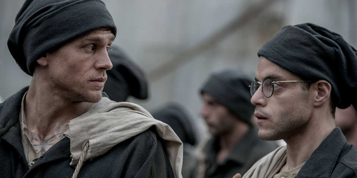 Charlie Hunnam and Rami Malek will star in the latest adaptation of the novel (Source: IMDb)