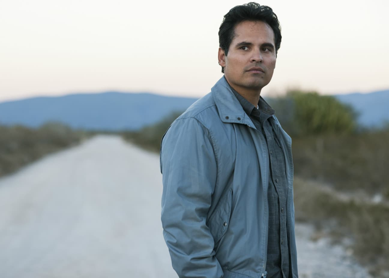 Michael Peña as DEA agent Kiki Camarena (Source: Netflix)
