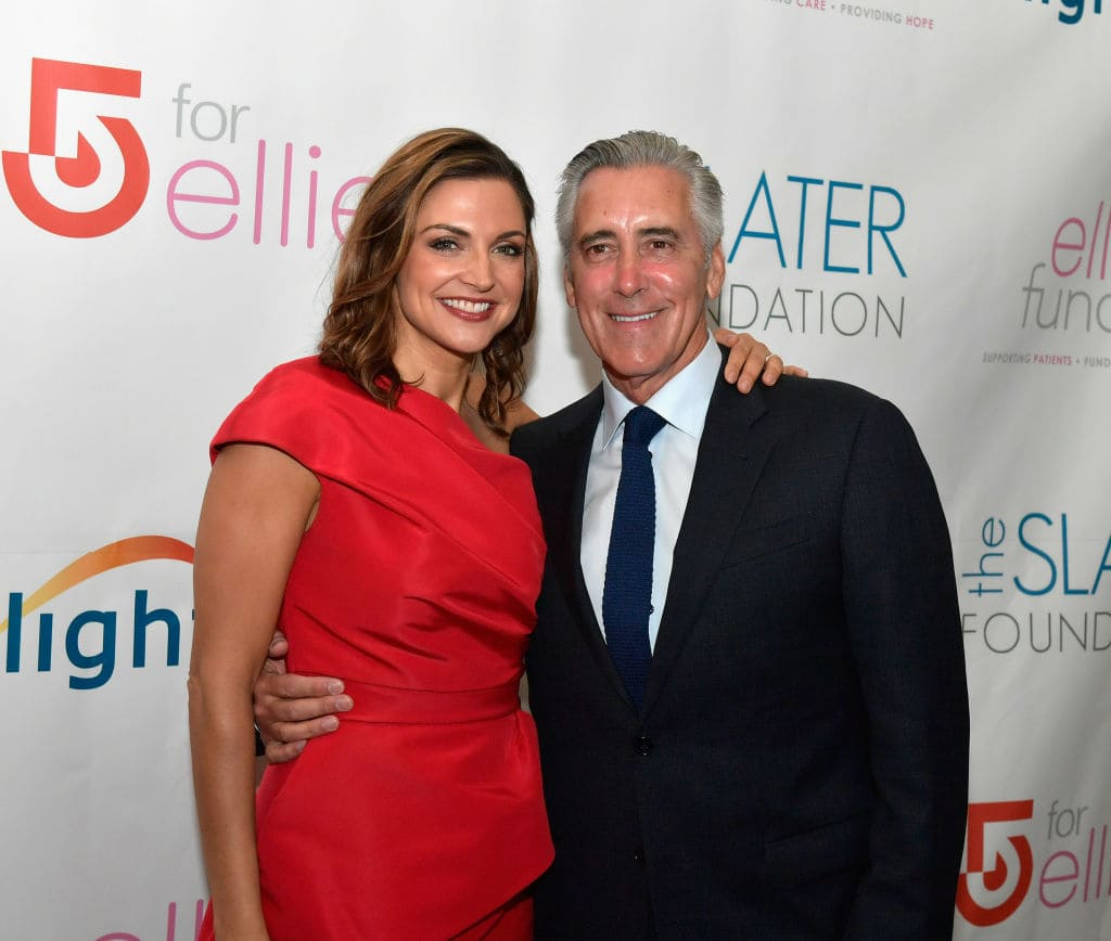 Paula Faris and Billy Costa attend the Ellie Fund's 5 for Ellie Spring Fashion Show at the Fairmont Copley Plaza on June 7, 2017 in Boston, Massachusetts. (Photo by Paul Marotta/Getty Images for Ellie Fund & Slater Foundation)