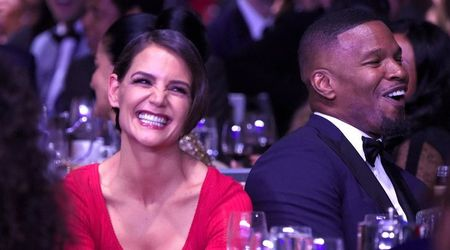Split? What split? Loved-up Jamie Foxx and Katie Holmes step out for dinner date amid rumors of a break up