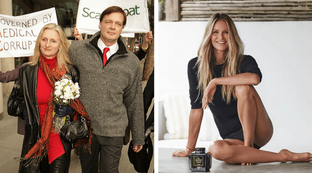 Elle Macpherson's new BF Andrew Wakefield built dream house for wife Caramel, one month before dumping her to 'find himself'
