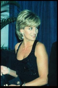 Princess Diana was 36 when she died in a car crash in Paris in 1997 (Getty Images)