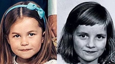 Princess Charlotte resembles her late granny, Princess Diana. Here's visual proof
