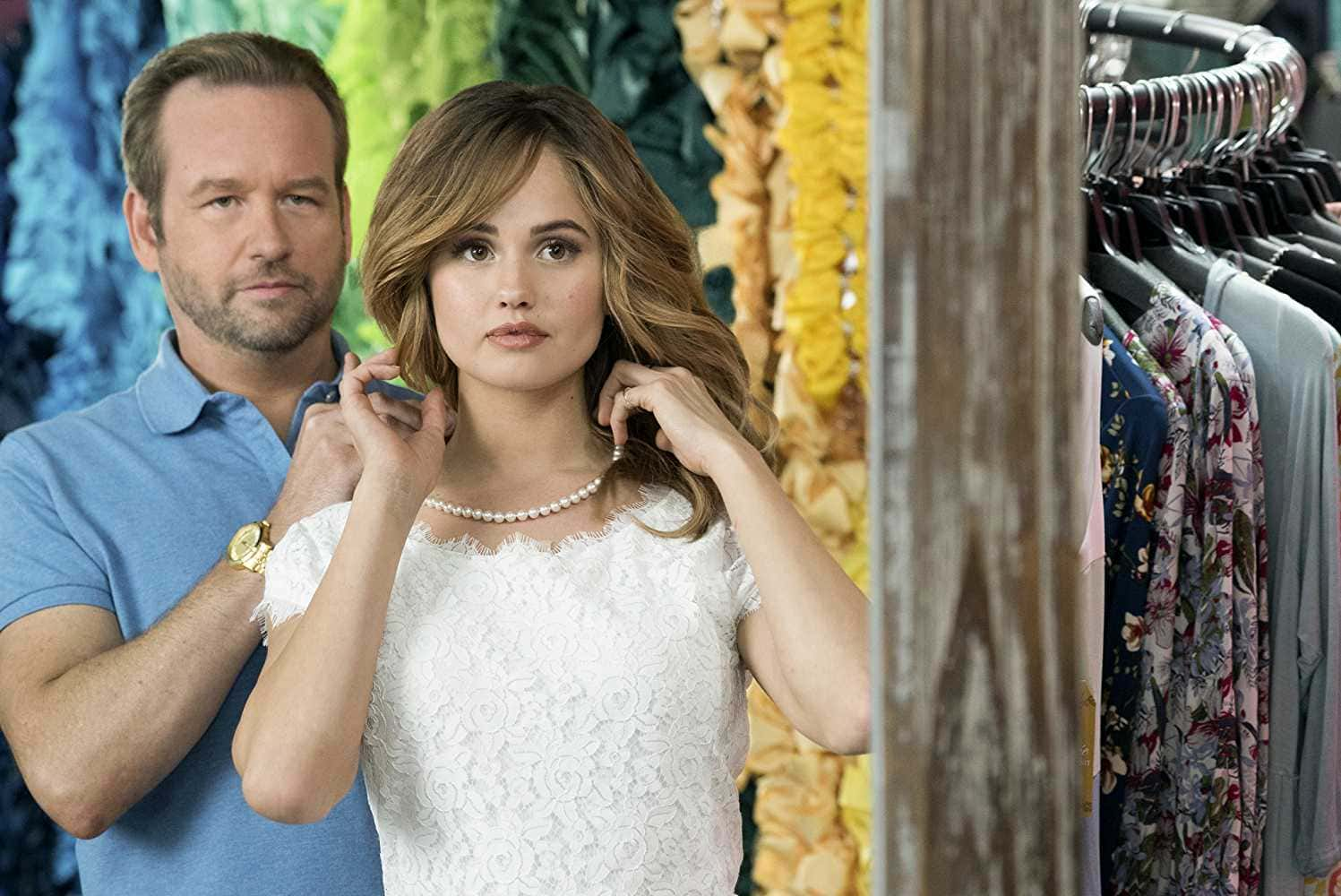 Debby Ryan and Dallas Roberts in 'Insatiable' (Source: IMDb)