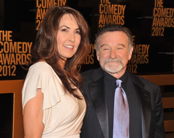 Susan Schneider and Robin Williams (Source: Getty Images)