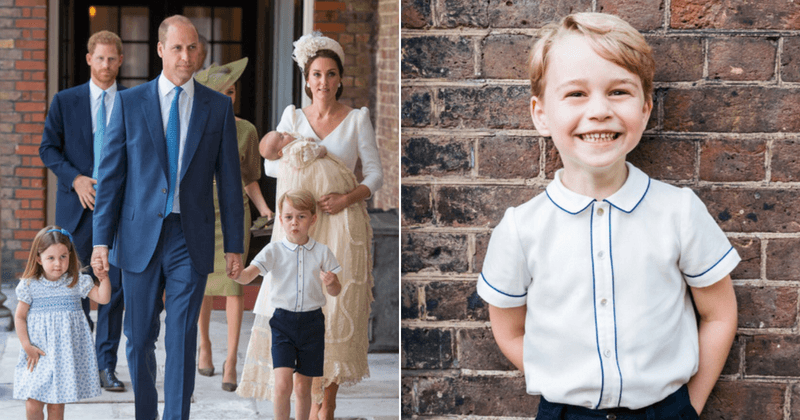 Prince George has no idea he could one day be king! Prince William and Kate Middleton are keeping it a secret for now