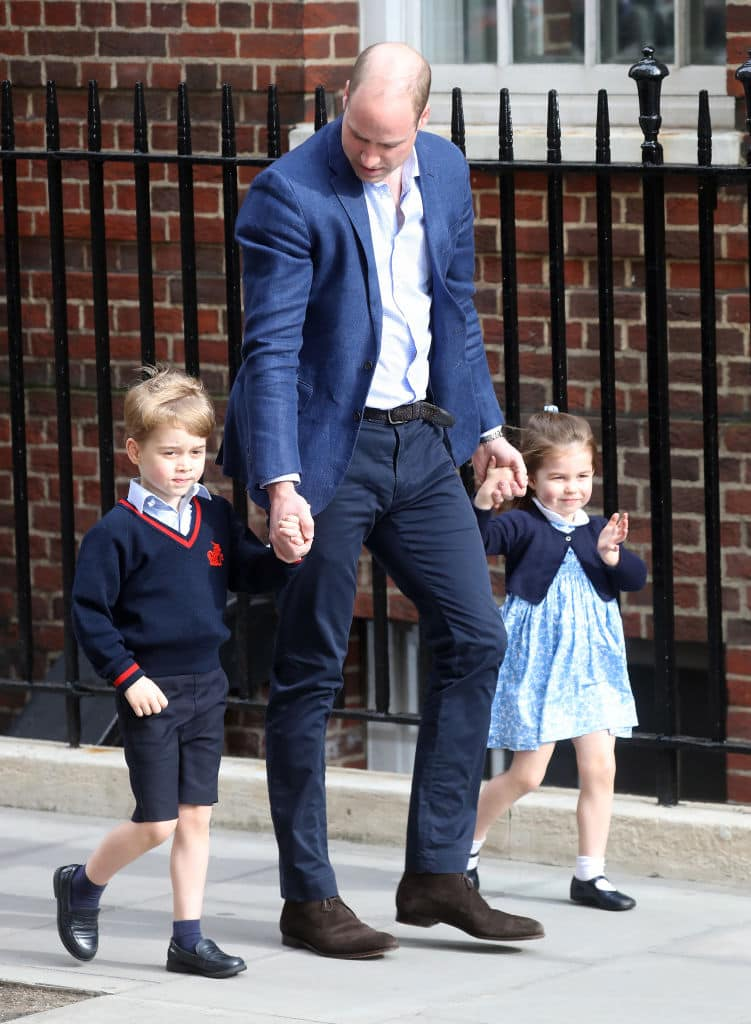 Prince William, Prince George, and Princess Charlotte (Source: Getty Images)