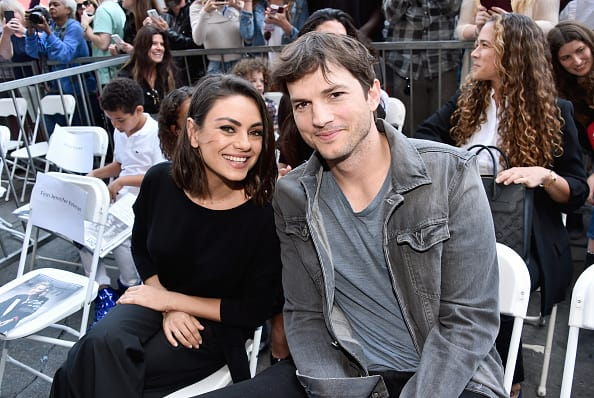 Mila Kunis and Ashton Kutcher (Source: Getty Images)