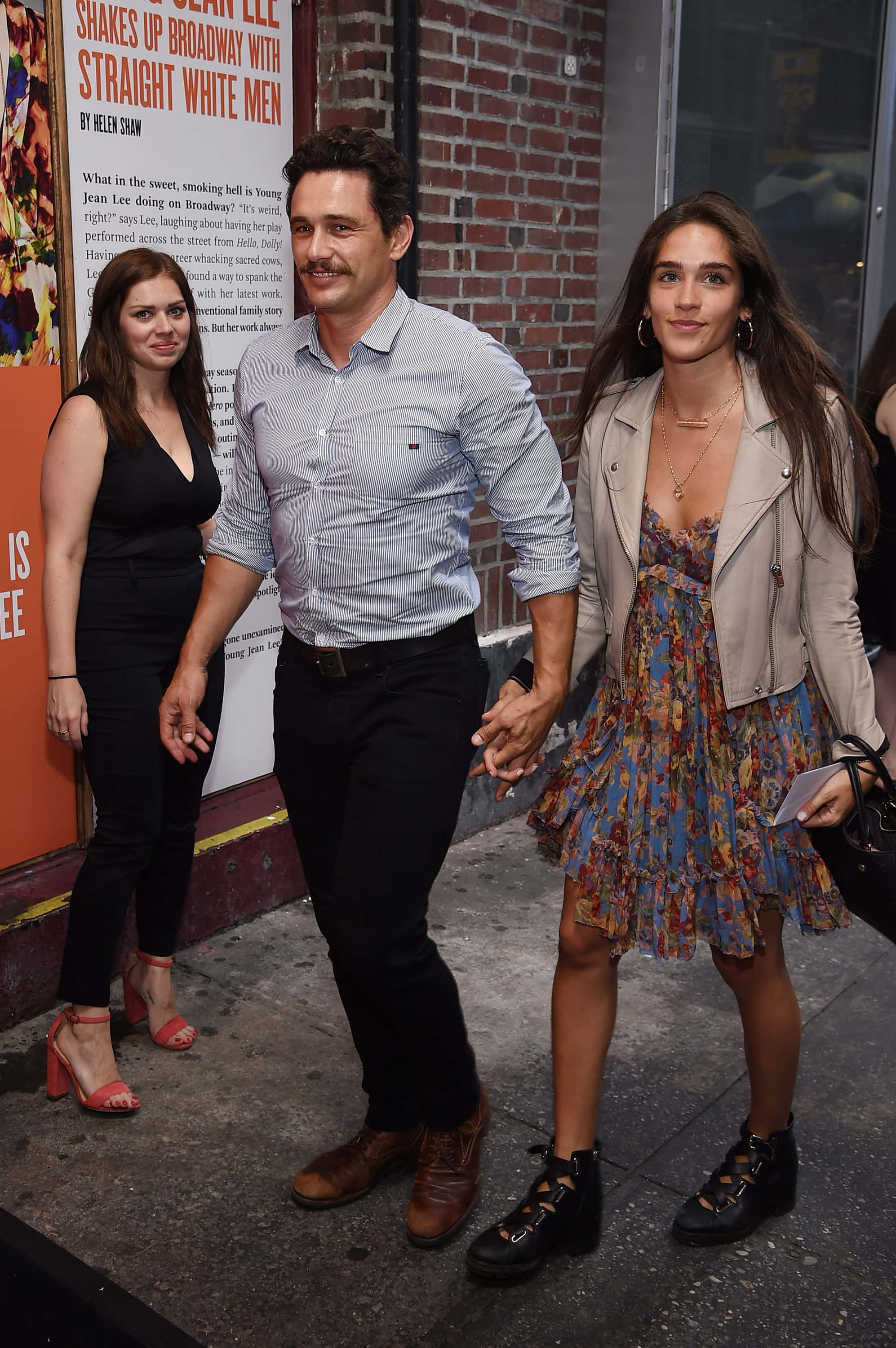 James Franco hits the red carpet with girlfriend in his ...