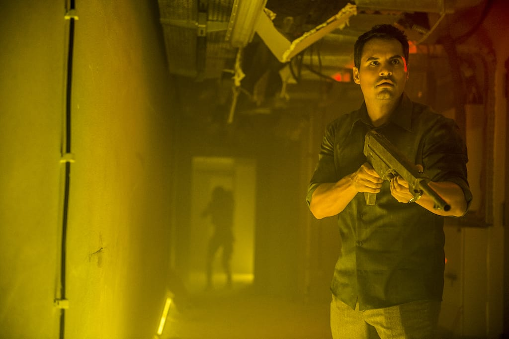A still from the film 'Extinction' (Image Source: Netflix)