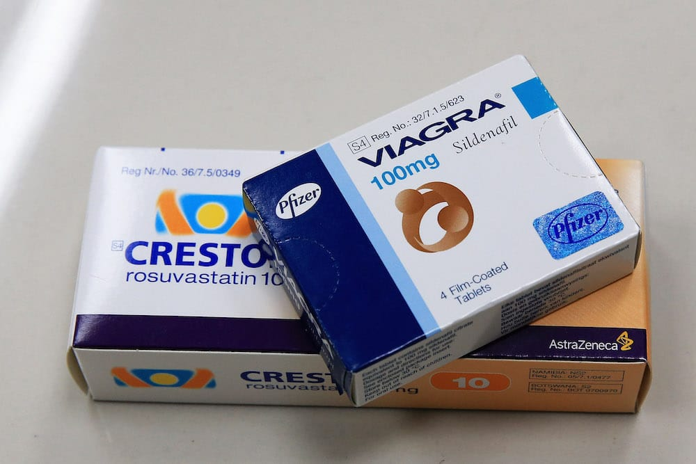 Viagra is generally used for erectile dysfunction in men and is also prescribed to people who struggle with high blood pressure (Getty Images)
