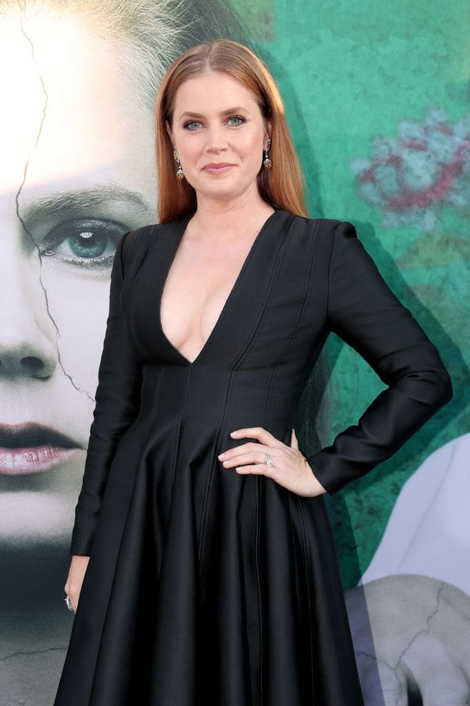 Amy Adams attends the premiere of HBO's 'Sharp Objects' at The Cinerama Dome on June 26, 2018 in Los Angeles, California. (Photo by Christopher Polk/Getty Images)