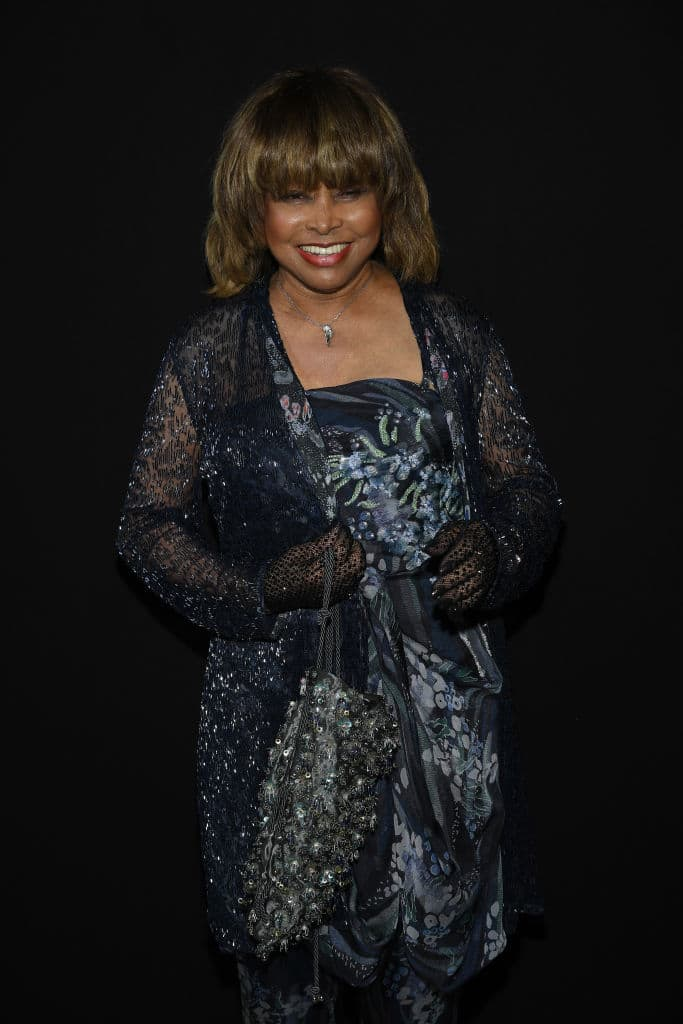 Tina Turner was at the Paris Fashion Week just hours before her son was found dead. (Getty Images)