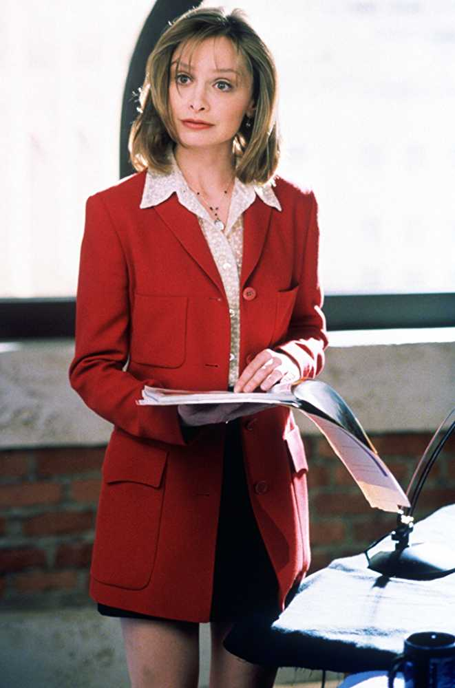 Calista Flockhart as Ally McBeal (Source: IMDb)
