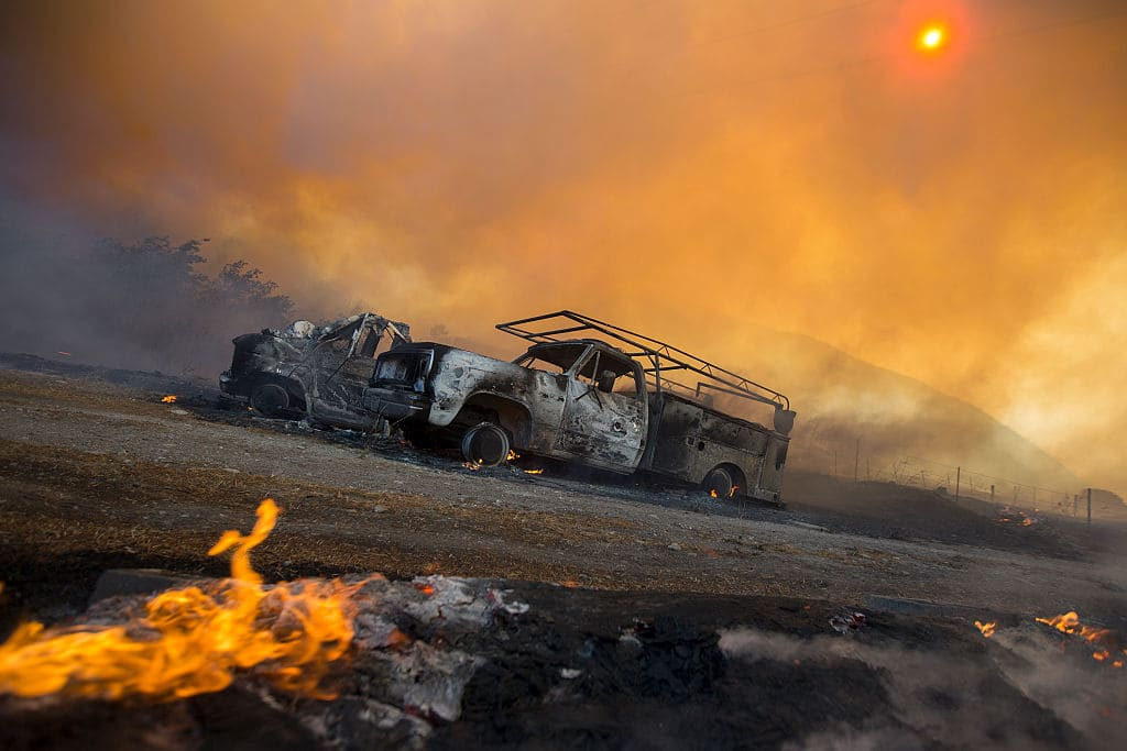 Reports state that the residents of the area were not warned to evacuate as the fire engulfed multiple homes. (Getty Images)