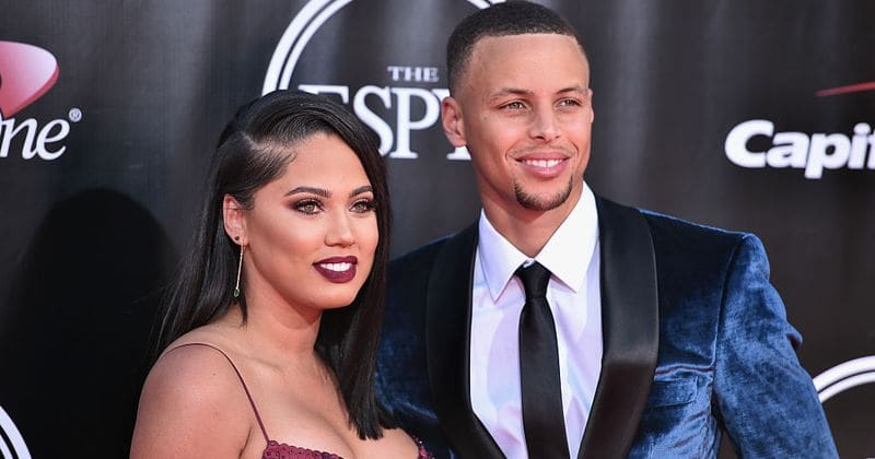 fbab9d61e239 Stephen and Ayesha Curry celebrate their 7th wedding anniversary few weeks  after the birth of their