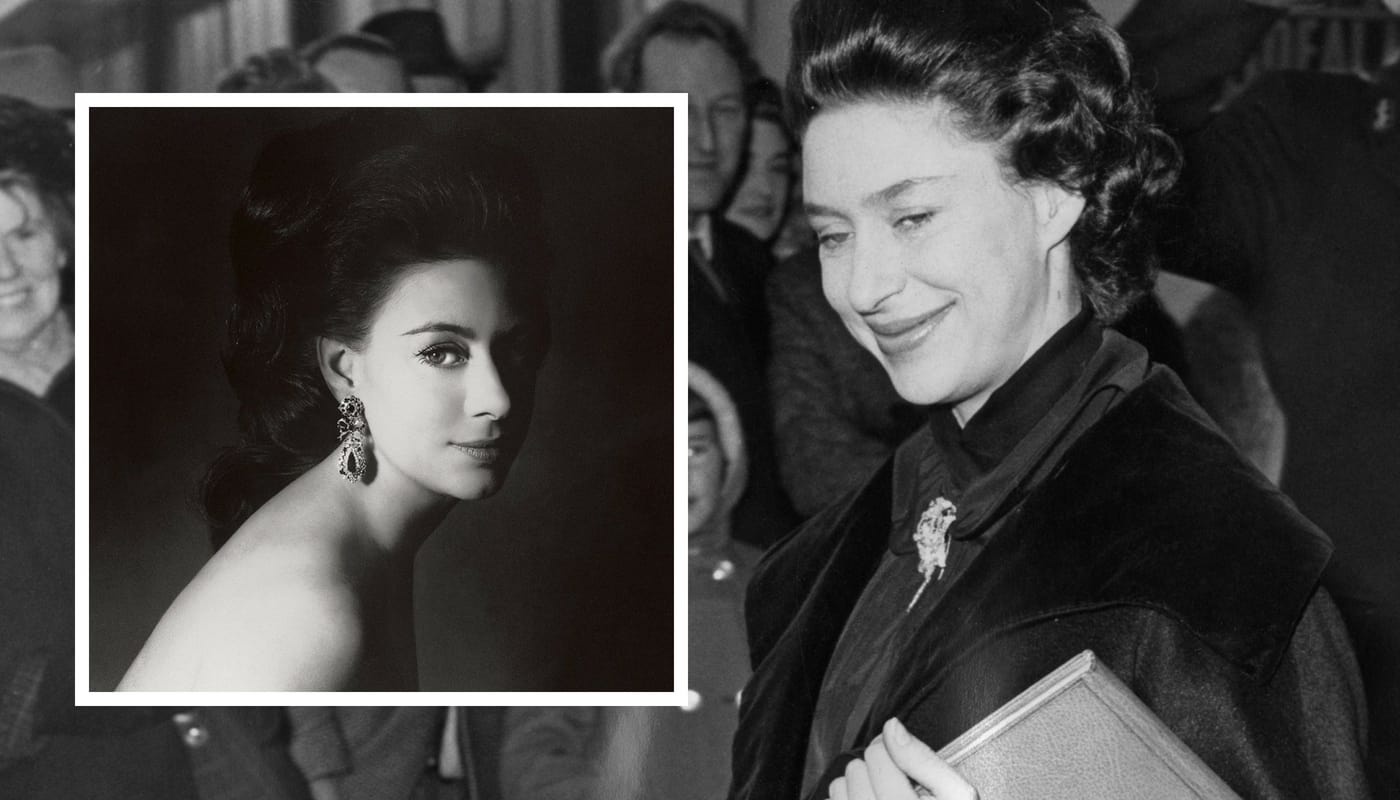 A gang of robbers broke into a Lloyd's of London bank to steal copies of naked pictures of Princess Margaret