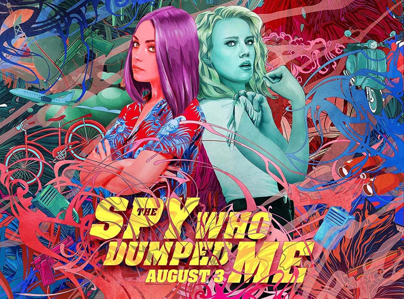 'The Spy Who Dumped Me' stars Mila Kunis and Kate McKinnon (Source: IMDb)