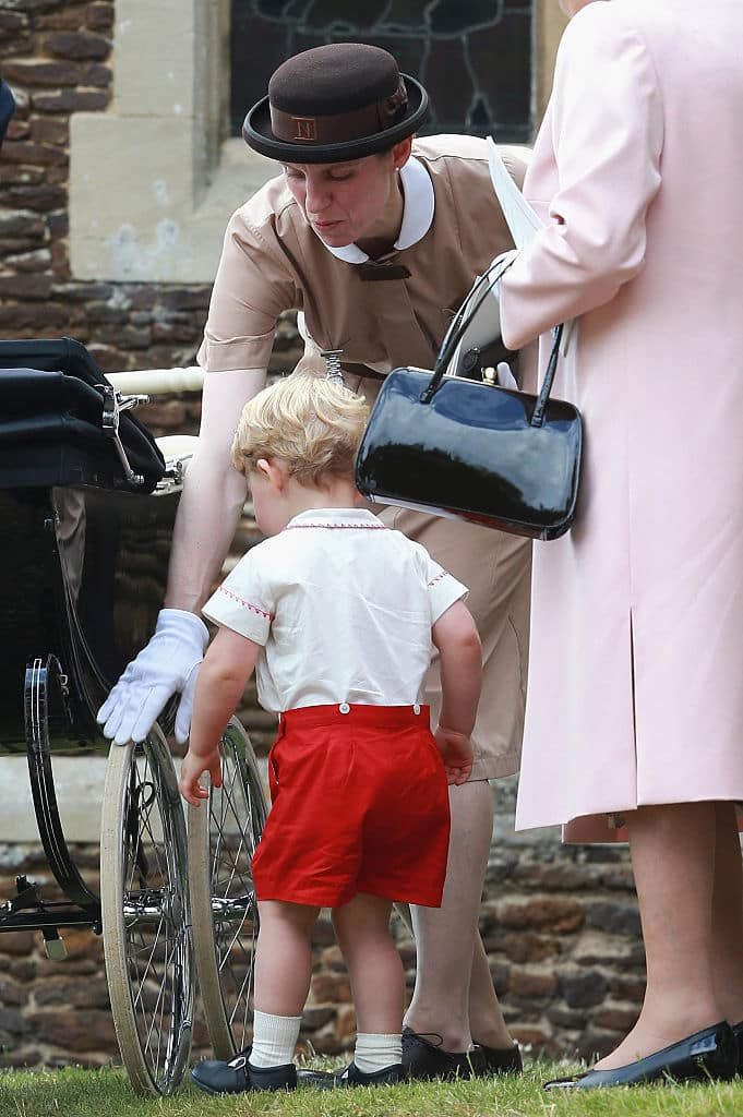 Maria Borrallo with Prince George (Source: Getty Images)