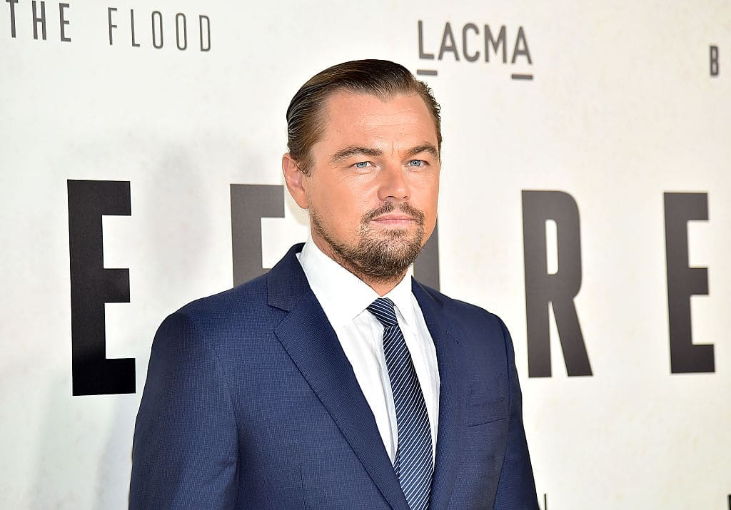 Leonardo DiCaprio attends the screening of National Geographic Channel's 'Before The Flood' at Bing Theater At LACMA on October 24, 2016 in Los Angeles, California. (Photo by Mike Windle/Getty Images)
