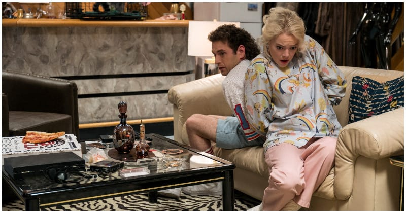 Emma Stone and Jonah Hill in 'Maniac'