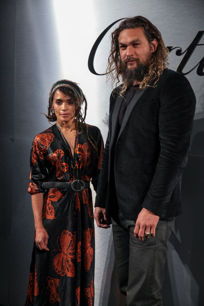 Lisa Bonet and Jason Momoa in San Francisco on April 5, 2018 (Photo by Kelly Sullivan/Getty Images)