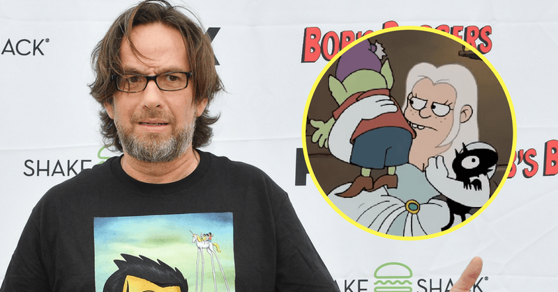 "'Disenchantment's David Herman talks about having played over a hundred voices and ""just being able to get paid to play"""