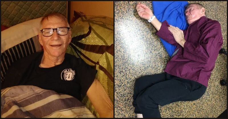 War veteran with pneumonia passes out on hospital floor after being refused bed for not being 'sick enough'