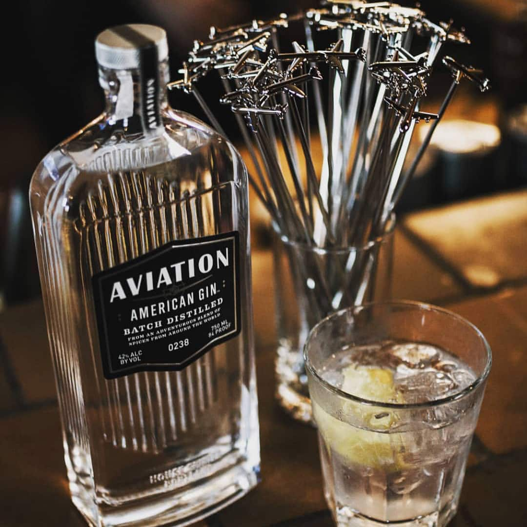 Aviation Gin launched by Ryan Reynolds. Source: Instagram