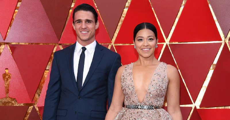 Just can't get enough of it! Gina Rodriguez flashes massive engagement ring in social media post