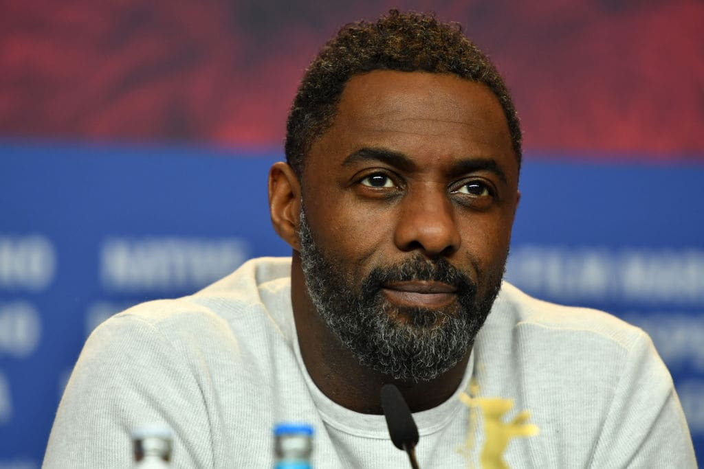 Idris Elba attends the 'Yardie' press conference during the 68th Berlinale International Film Festival Berlin at Grand Hyatt Hotel on February 22, 2018 in Berlin, Germany. (Photo by Alexander Koerner/Getty Images)