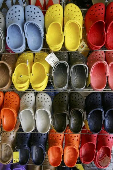 Despite the widespread belief that the entire organisation would be folding, Crocs has informed the internet that this isn't the case (Getty Images)