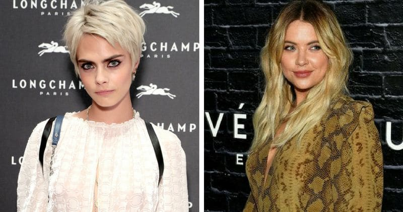 Cara Delevingne And Ashley Benson Share Passionate Kiss At Airport