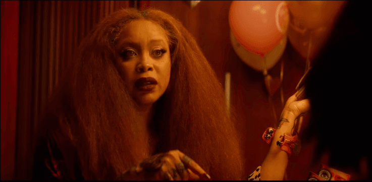 Erykah Badu in the trailer of What Men Want. Source: YouTube