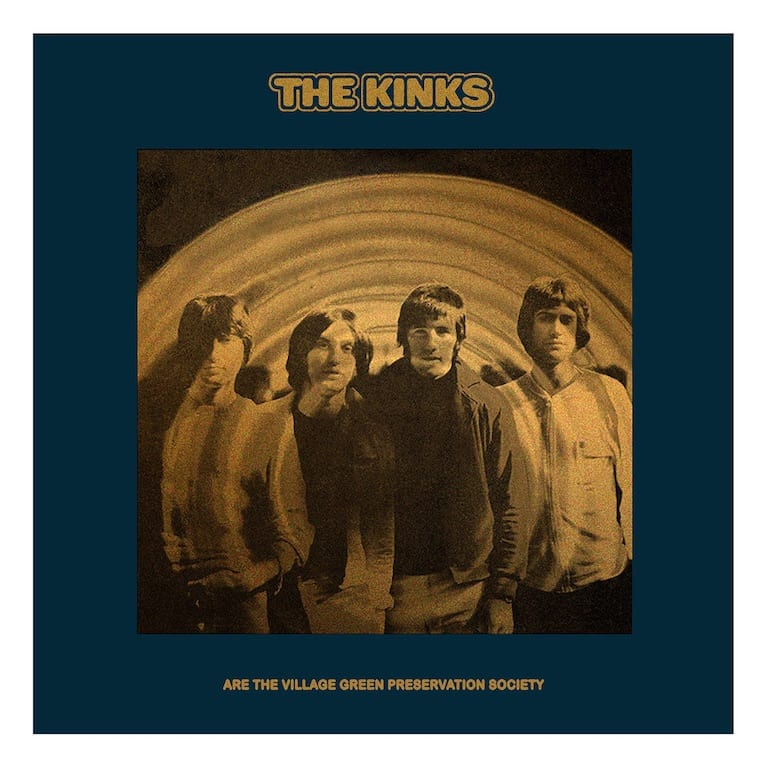 Album art for 'The Kinks are the Village Green Preservation Society'. (Image Source: The Kinks)